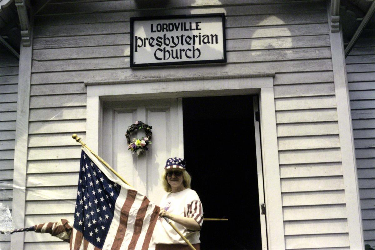 Church lady,  Lordville NY