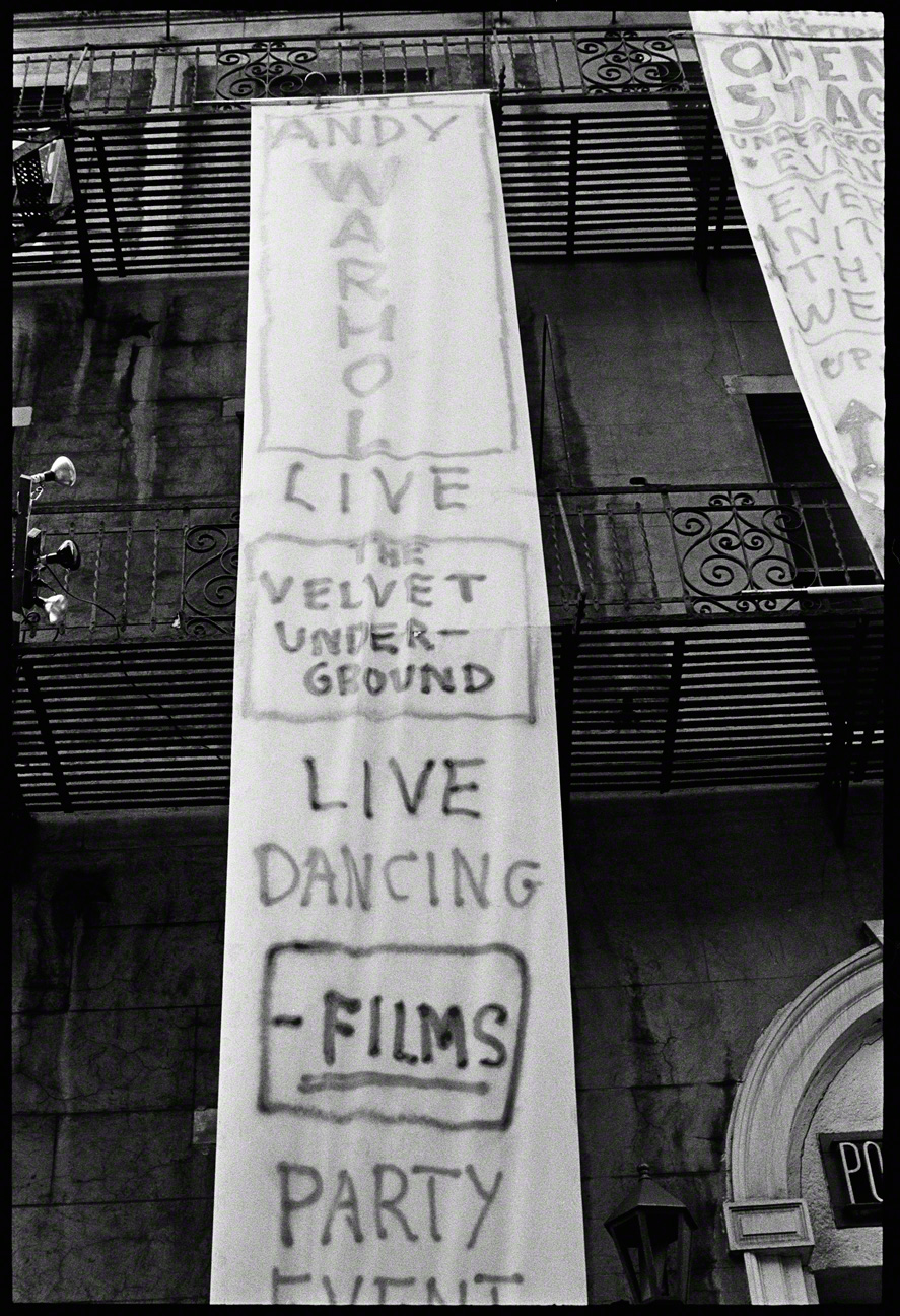 VU BANNER, ST. MARKS PLACE, NYC