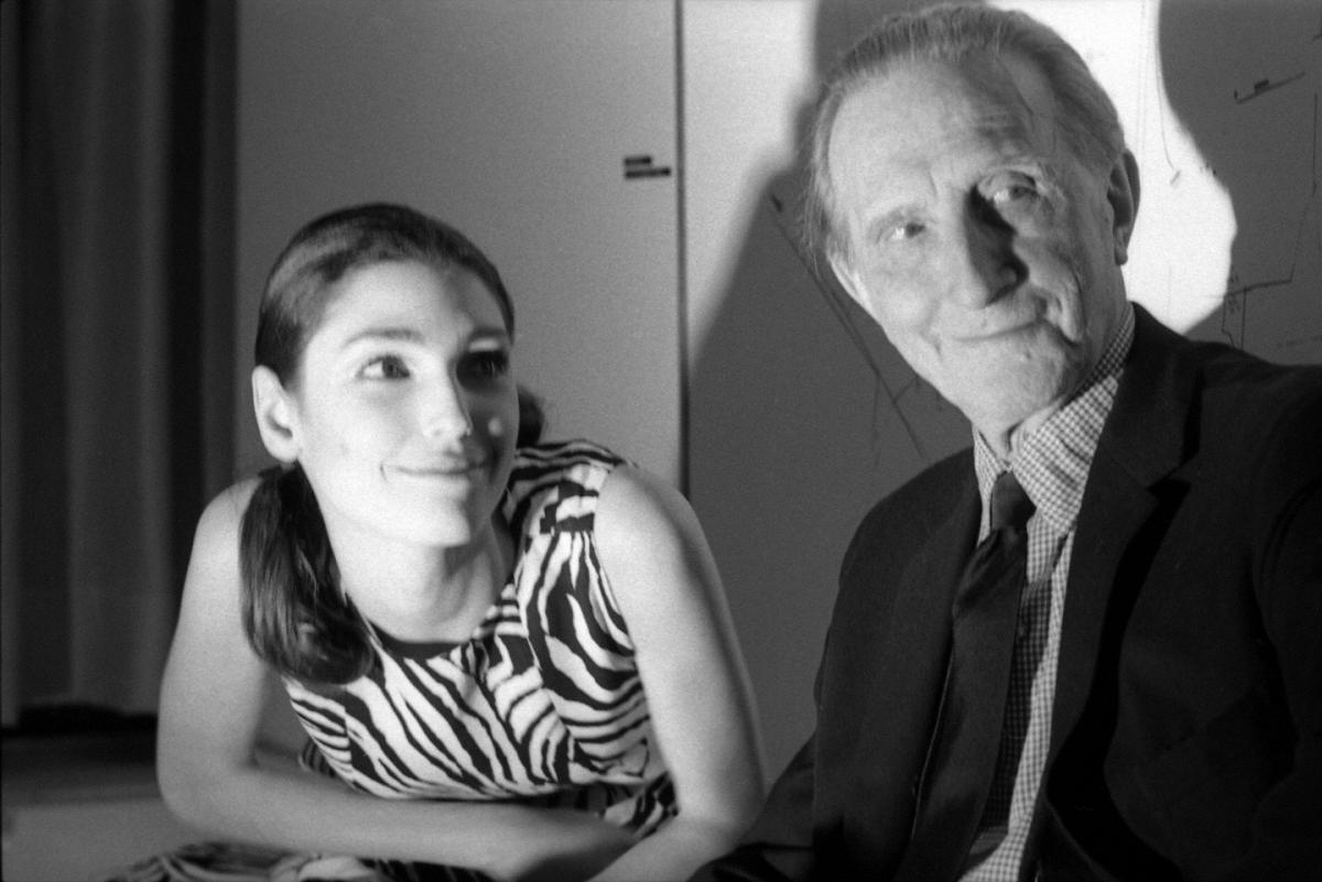 Marcel Duchamp (with Benedetta Barzini),  Cordier & Ekstrom Gallery NYC
