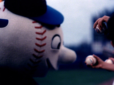 Mr. Met,  Shea Stadium, NYC