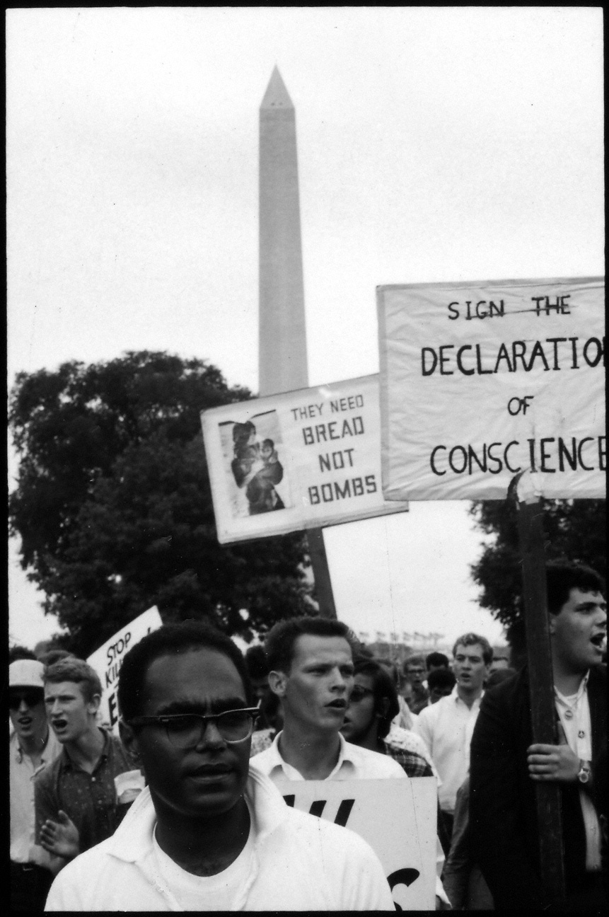Civil Rights demonstrator, Washington DC